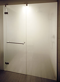 Steam room and jet shower