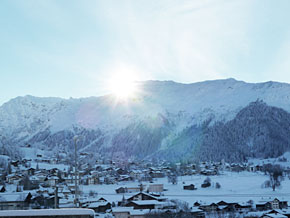 Sun over Klosters
